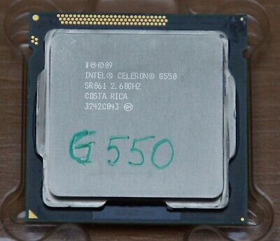 Intel Celeron G550 2.6GHz Dual-Core (CM8062307261218) Processor