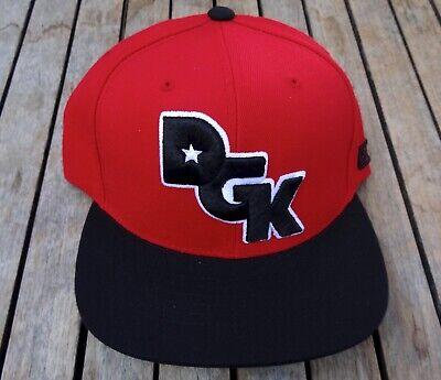 NEW DGK I HATERS EMBROIDERED KAYO RED/BLACK TRONER  MENS SNAPBACK HAT RHTDGK-98