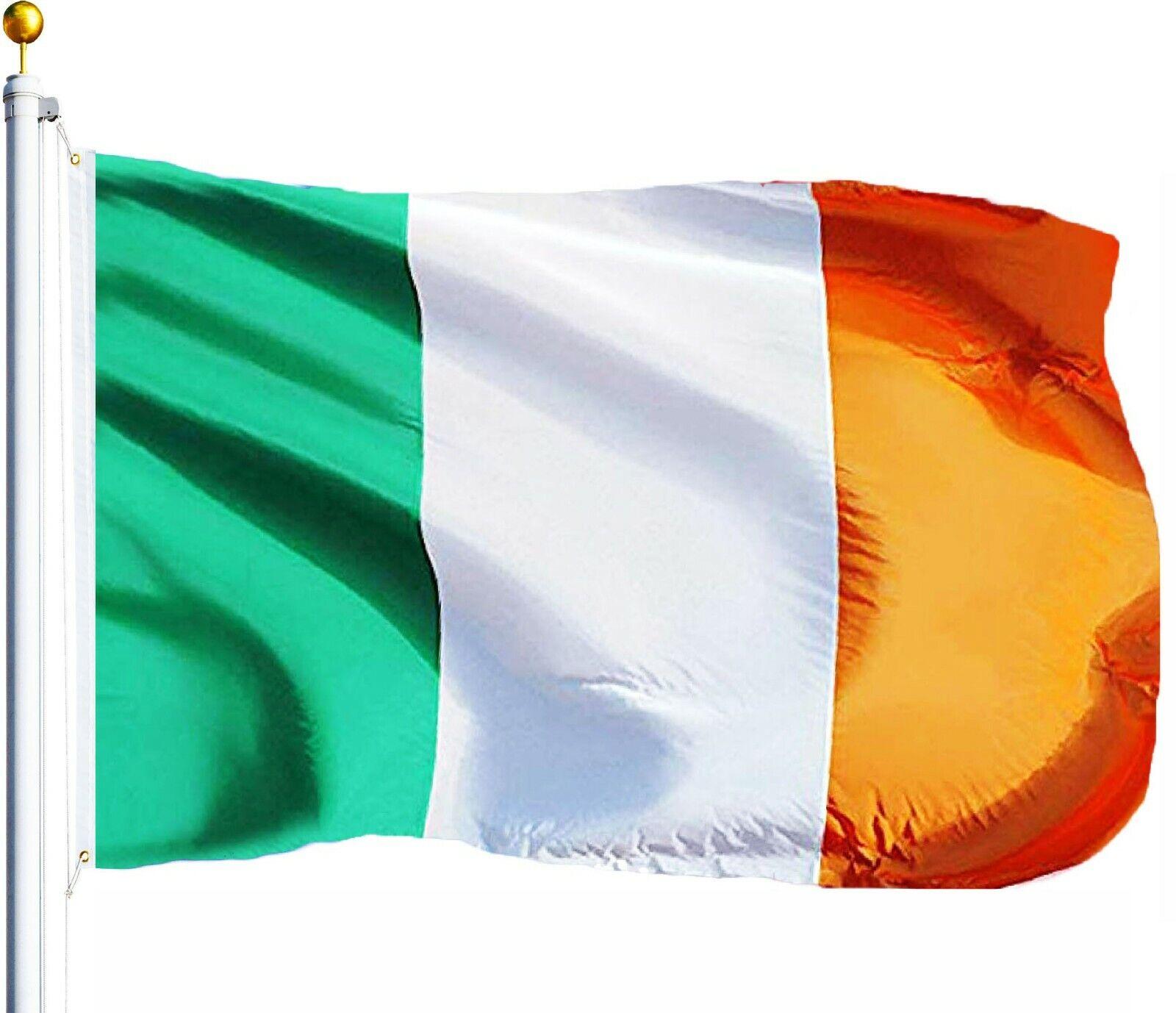 3X5 Ireland Flag 3'x5' Irish FLAG BANNER USA SELLER