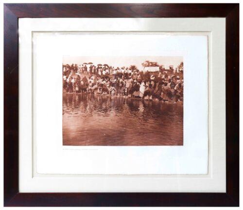 Edward Sheriff Curtis Original Large Photogravure Plate