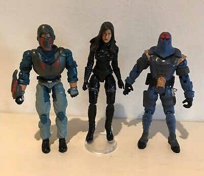 G.I. Joe Cobra Loose Figures including Commander & Baroness