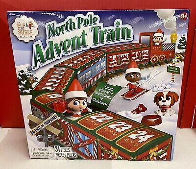 Elf On The Shelf North Pole Advent Train Countdown Christmas Calendar 2020 New
