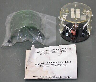Federal Signal Light Stack Module Lsl120g 120vac Green Tier Incandescent Lamp
