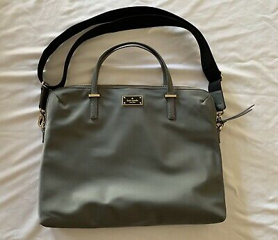 Kate Spade New York Daveney Wilson Road Laptop Shoulder Bag (Large) - Gray