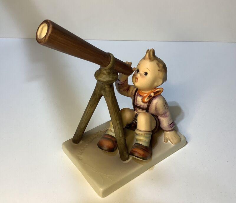STAR GAZER Hummel Goebel Figurine #132 Boy with Telescope W. Germany