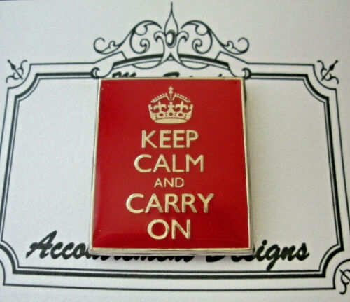 Needle Minder Magnet Keep Calm & Carry On Accoutrement Designs Needlepoint