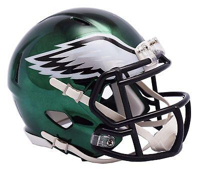 NFL Philadelphia Eagles Chrome Alternate Speed Mini Helmet Unisex Fanatics 907ff69a1