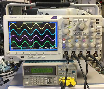 Tektronix Dpo3054 Oscilloscope 500mhz 2.5gss 1584 Hours