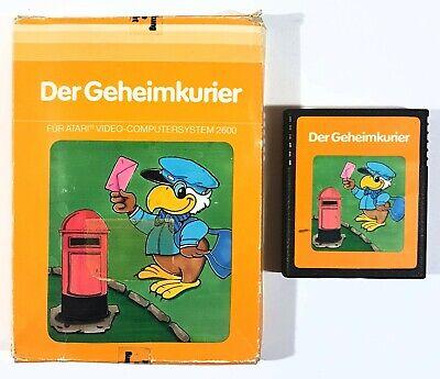 Atari Vcs Game from Geheimkurier Dt. Pal Original Packaging