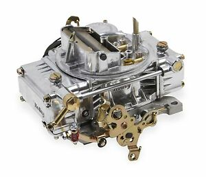 Holley-0-80457SA-600CFM-4bbl-Factory-Refurbished-ALUMINUM-Carb-Electric-Choke