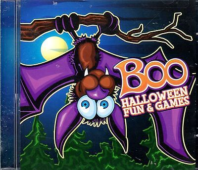 DJ BOO HALLOWEEN FUN & GAMES: SPOOKY KIDS HOLIDAY PARTY SONGS, SOUNDS & STORIES!