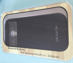 Sealed External Battery Case for Samsung Galaxy S4