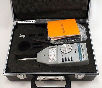 Simpson Sound Decibel Level Meter Model 886-2 Type 2 With 890-2 Calibrator