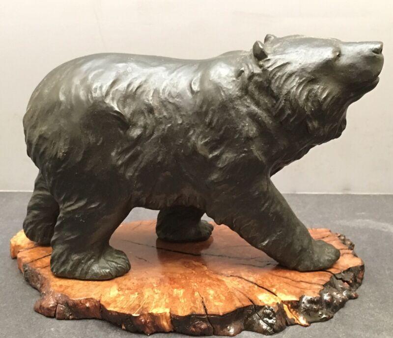 Rare Japanese Meiji Okimono - Bear
