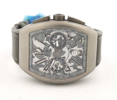Franck Muller Vanguard Chronograph CAMOULFLAGE Titanium V 45 CC DT