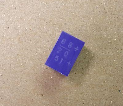 20sm68m Sanyo Os-con Horizontal Smd Capacitors 68uf 20v Cu1d680mbaang Qty.20