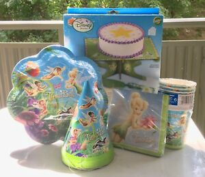 Disney Tinker Bell Party Set & Cake Stand Kit