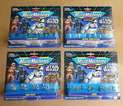 "MULTI-LIST OF ""GALOOB STAR WARS MICRO MACHINES FIGURE SETS NEW/UNOPENED 1994"