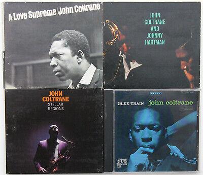 JOHN COLTRANE 4 CD lot Love Supreme, Blue Train, Stellar Regions, Johnny Hartman