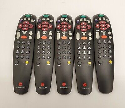 Polycom Remote Control For Viewstation Pvs-1419 Video Conferencing Lot Of 5