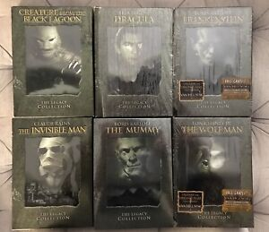 Universal Classic Monsters DVD Collections Dracula, Frankenstein