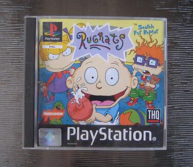 RUGRATS: SEARCH FOR REPTAR - PLAYSTATION 1 Algester Brisbane South West Preview