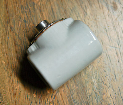 Two Sided Porcelain Light Socket - Vintage Style Twin Lamp Holder, Double Bulbs
