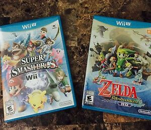 Wii U Games - Played One Time