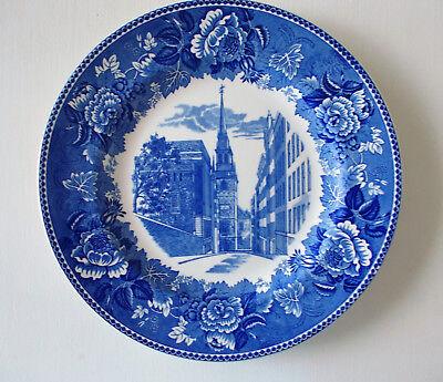 Boston Christ Church-Old North Church Plate - Vintage Wedgwood