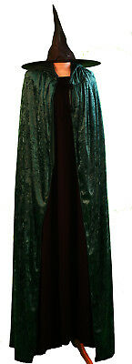 Mcgonagall/World Book Day Kids HOGWARTS WITCH DRESS, CLOAK & HAT Costume