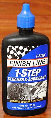 Finish Line Metro 1 Step Bicycle Bike Chain Cleaner   Lube 4Oz  Drip Bottle
