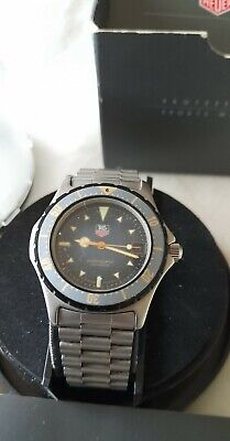 tag heuer professional mens watch beautiful condition original box and papers