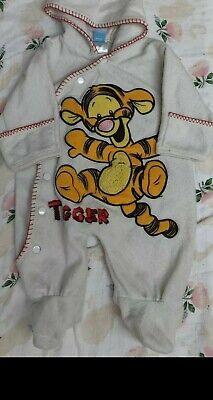 CLASSIC Disney Tigger  Baby Boy One Piece  Romper Sleeper Size 3~6 Months Tigger Sleeper