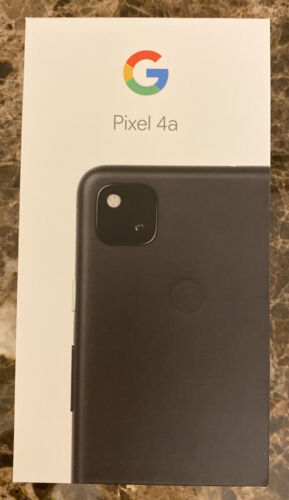 Google Pixel 4a - 128GB - Just Black Unlocked In Hand Ready