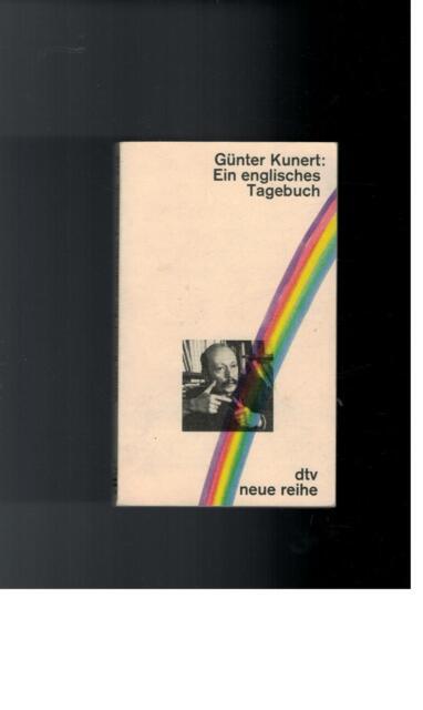 Günter Kunert - Ein englisches Tagebuch - 1981