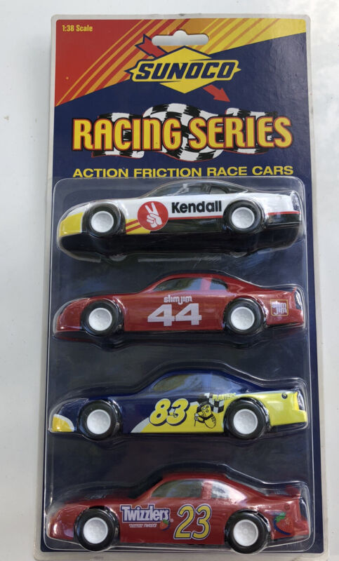 Vintage 1999 Sunoco Racing Series Action Friction Race Cars 1:38 Scale🙏🏻❤️❤️❤️
