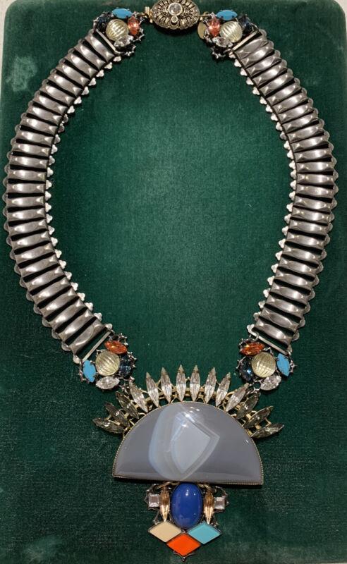 ANTON HEUNIS rhinestone necklace