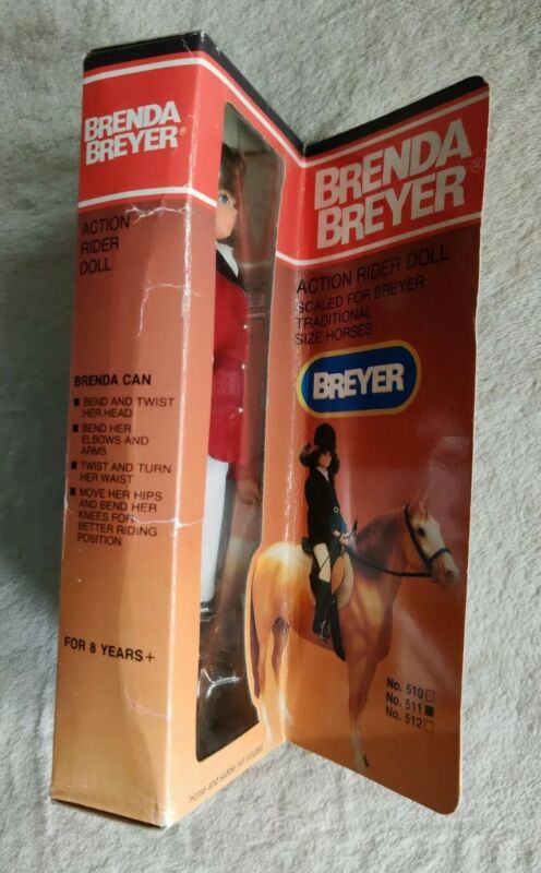 Brenda Breyer Action Rider Doll 511 Vintage 1991 (S-1)