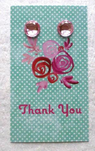 100 BOUTIQUE EARRING DISPLAY EARRING HOLDERS PINK FLOWERS BASKET EARRING CARDS