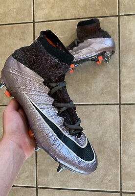 Nike Mercurial Superfly IV Urban Lilac / Chrome SG Size UK 7.5