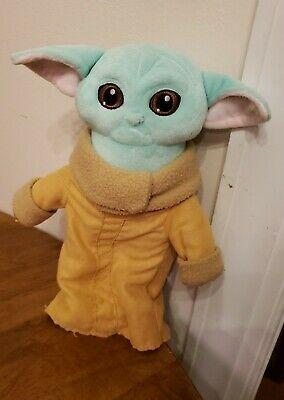 "12"" Baby Yoda The Mandalorian Force Awakens Master Stuffed Doll Plush Toys NWOT"