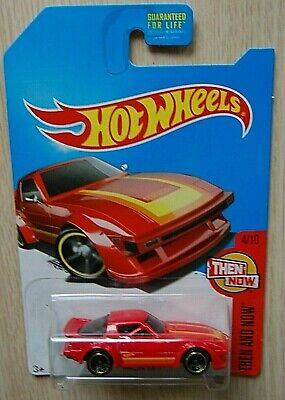 2017 Hot Wheels ERROR Kmart Variation Red Mazda RX-7 Then and Now #4/10 moc