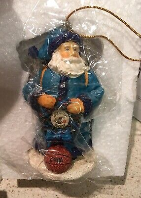NEW IN BOX  MEMORY COMPANY LICENSED CHARLOTTE HORNETS CHRISTMAS ORNAMENTS - In Memory Christmas Ornaments