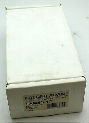 New Folger Adam Electric Door High Security Concealed Switch Famss-1c Lock