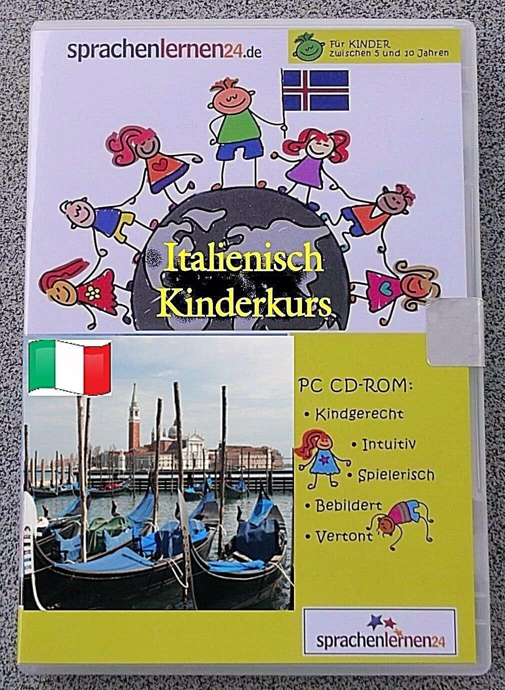 Italienisch - Kindersprachkurs Lernsoftware  ,Sprachenlernen24