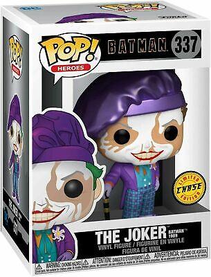 FUNKO POP! HEROES: BATMAN - THE JOKER (BATMAN 1989) *CHASE* #337 NIB IN STOCK