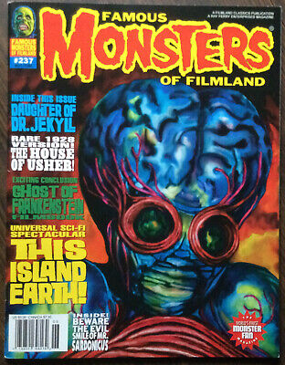famous monsters of filmland magazine #237 F Fine Bagged & Boarded!