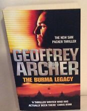 The Burma Legacy by Geoffrey Archer Castle Hill The Hills District Preview