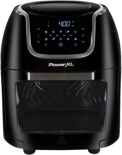 PowerXL 10 QT Vortex Air Fryer Pro Oven, Digital Black, Brand New