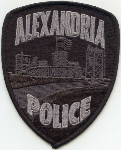 ALEXANDRIA LOUISIANA subdued POLICE PATCH